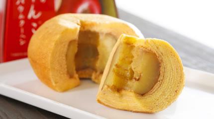りんごバームクーヘン
